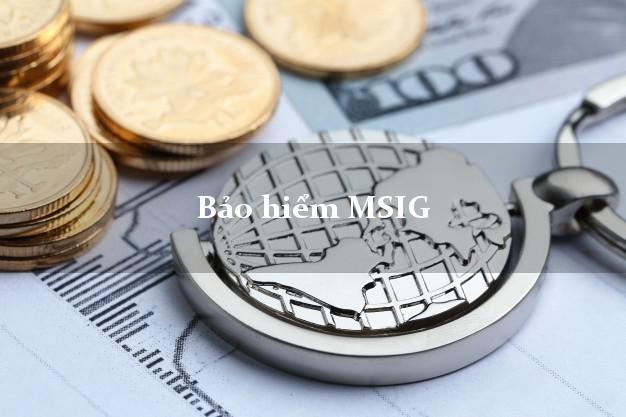 Bảo hiểm MSIG