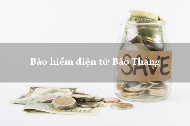Bảo hiểm điện tử Bảo Thắng Lào Cai