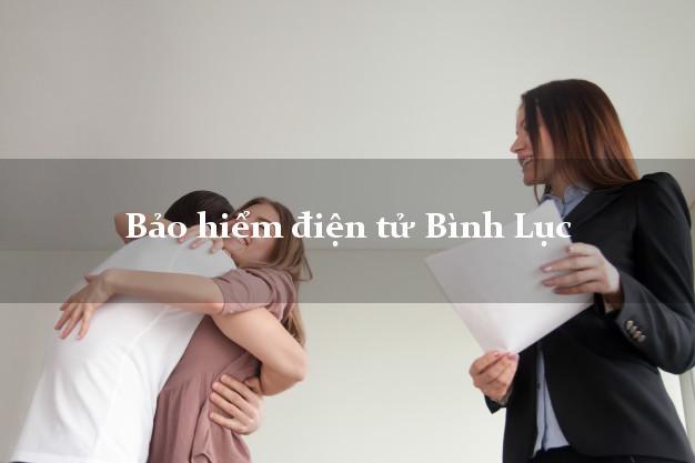 Bảo hiểm điện tử Bình Lục Hà Nam