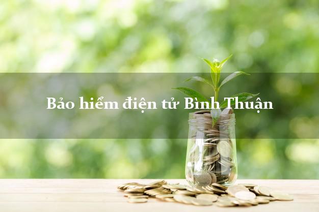Bảo hiểm điện tử Bình Thuận