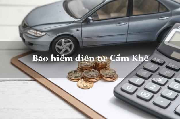 Bảo hiểm điện tử Cẩm Khê Phú Thọ