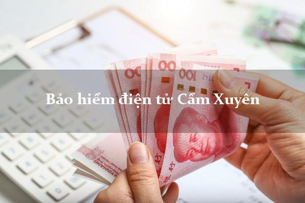 Bảo hiểm điện tử Cẩm Xuyên Hà Tĩnh