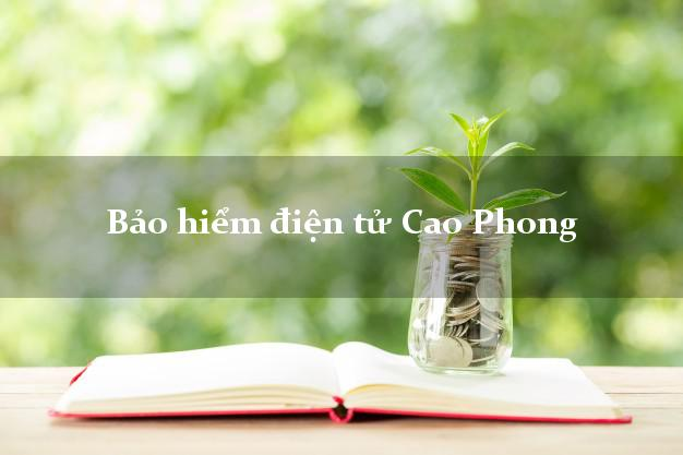 Bảo hiểm điện tử Cao Phong Hòa Bình