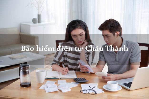 Bảo hiểm điện tử Châu Thành An Giang