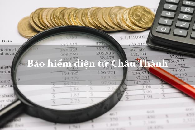 Bảo hiểm điện tử Châu Thành Đồng Tháp