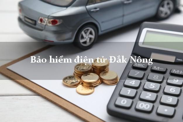 Bảo hiểm điện tử Đắk Nông