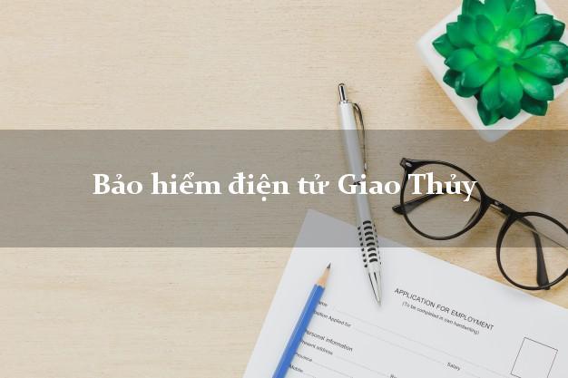 Bảo hiểm điện tử Giao Thủy Nam Định