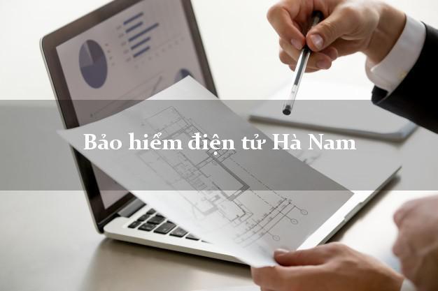 Bảo hiểm điện tử Hà Nam