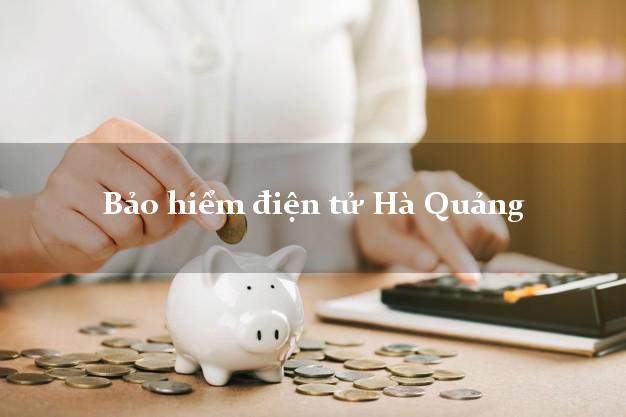 Bảo hiểm điện tử Hà Quảng Cao Bằng