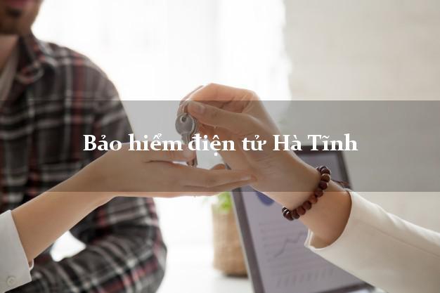 Bảo hiểm điện tử Hà Tĩnh