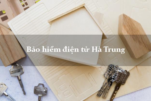 Bảo hiểm điện tử Hà Trung Thanh Hóa