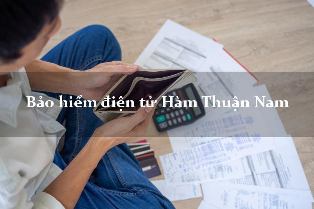 Bảo hiểm điện tử Hàm Thuận Nam Bình Thuận