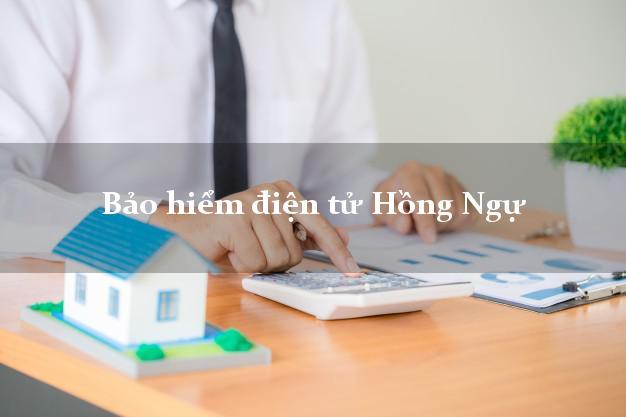 Bảo hiểm điện tử Hồng Ngự Đồng Tháp