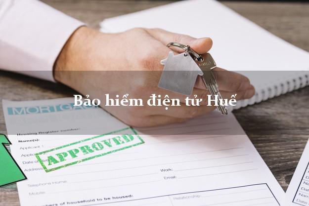Bảo hiểm điện tử Huế Thừa Thiên Huế