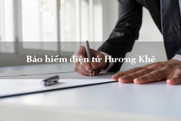 Bảo hiểm điện tử Hương Khê Hà Tĩnh