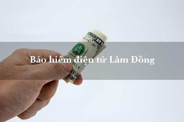Bảo hiểm điện tử Lâm Đồng