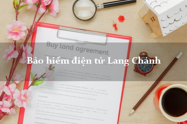 Bảo hiểm điện tử Lang Chánh Thanh Hóa
