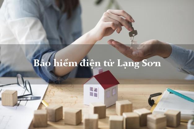 Bảo hiểm điện tử Lạng Sơn