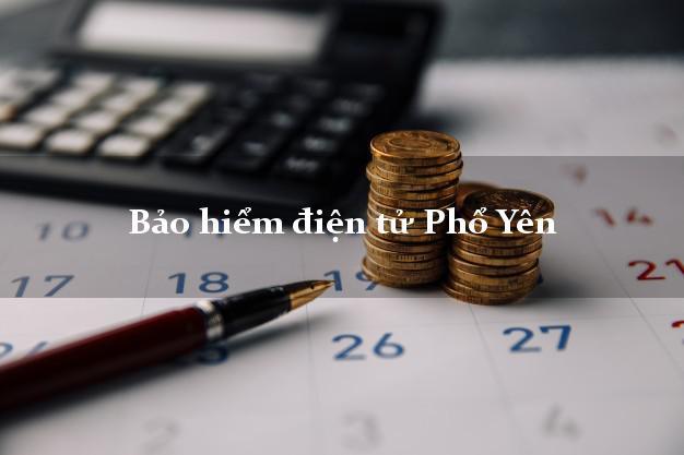 Bảo hiểm điện tử Phổ Yên Thái Nguyên