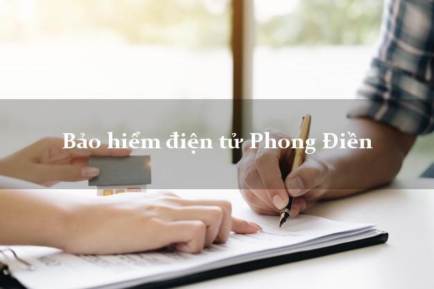 Bảo hiểm điện tử Phong Điền Cần Thơ