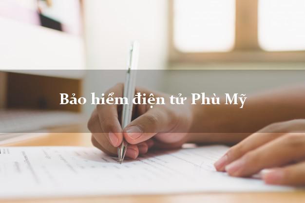Bảo hiểm điện tử Phù Mỹ Bình Định