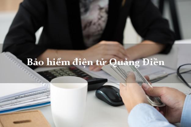 Bảo hiểm điện tử Quảng Điền Thừa Thiên Huế