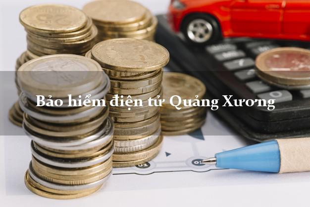 Bảo hiểm điện tử Quảng Xương Thanh Hóa