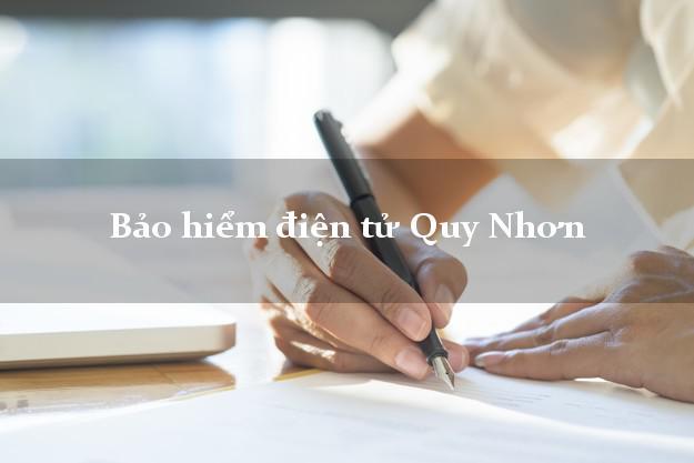 Bảo hiểm điện tử Quy Nhơn Bình Định