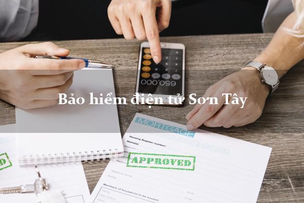 Bảo hiểm điện tử Sơn Tây Quảng Ngãi