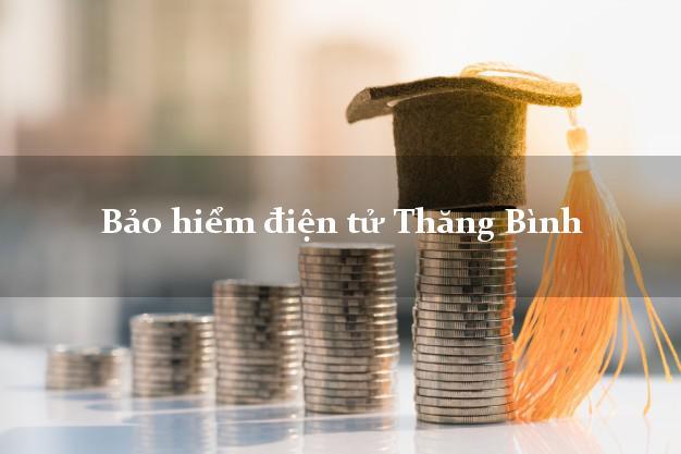 Bảo hiểm điện tử Thăng Bình Quảng Nam