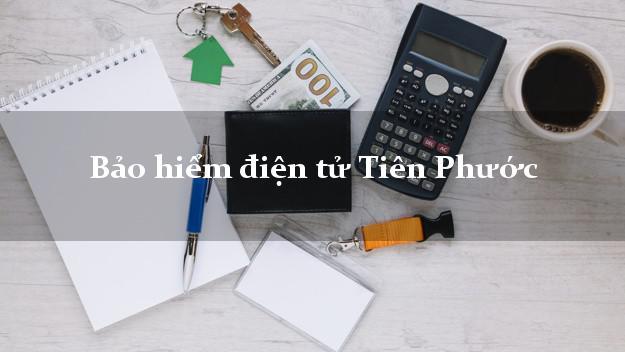 Bảo hiểm điện tử Tiên Phước Quảng Nam