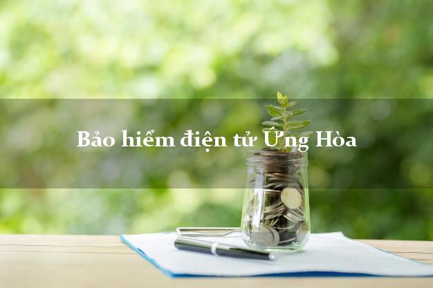 Bảo hiểm điện tử Ứng Hòa Hà Nội