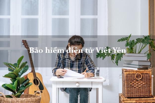 Bảo hiểm điện tử Việt Yên Bắc Giang