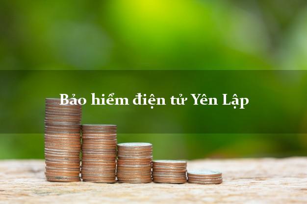 Bảo hiểm điện tử Yên Lập Phú Thọ